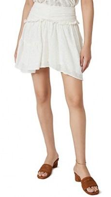 IRO Nixie Skirt – frill detail summer skirts - flipped