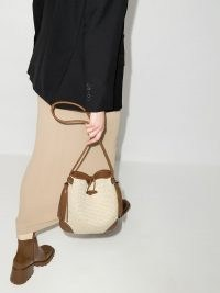 Isabel Marant Tyag raffia shoulder bag