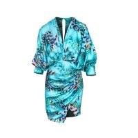 Cosel Jamaica Dress / blue wrap style dresses