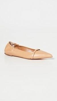 Malone Souliers Raya Flats ~ pointed toe flat shoes