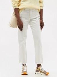 ACNE STUDIOS Mece high-rise cropped straight-leg jeans ~ summer denim