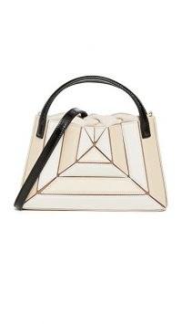 Mlouye Mini Sera Tote – small luxe style top handle bags – structured handbag