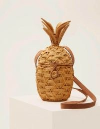 Boden Molly Pineapple Bag Natural | straw summer bags
