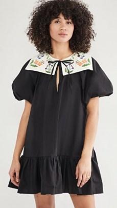 Naya Rea Calina Dress – black frill hem dresses - flipped