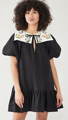 Naya Rea Calina Dress – black frill hem dresses