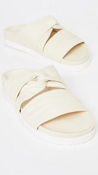 3.1 Phillip Lim Twisted Pool Slides