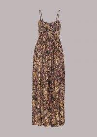 WHISTLES BATIK CARMEN DRESS / skinny strap summer dresses
