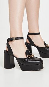 See by Chloe Mahe Heels / chunky vintage style platforms