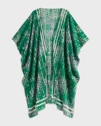 TED BAKER SYNOLA Serendipity Kimono / green floral kimonos
