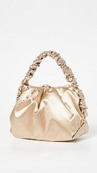 S.Joon Baby Bao Bag ~ slouchy satin bags