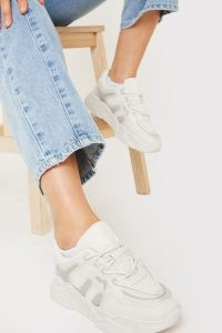 IN THE STYLE STONE SUPER CHUNKY TRAINERS