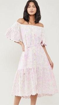 SUNDRESS Sandra Dress / off the shoulder summer dresses