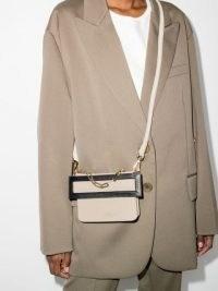 The Sant Himitsu leather shoulder bag | chic crossbody bags | small contemporary handbag