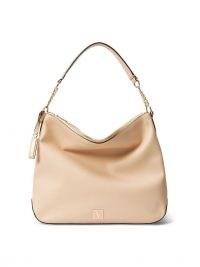 VICTORIA'S SECRET The Victoria Hobo Bag Blush Sand – neutral shoulder bags