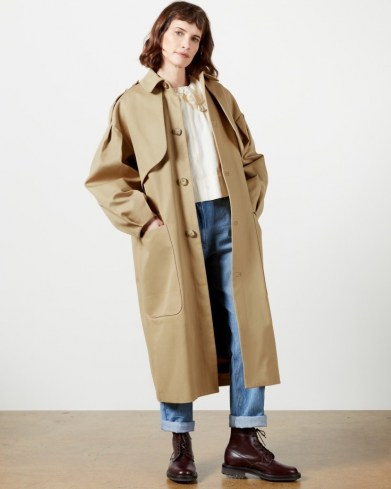 TED BAKER SESKII Trench coat ~ modern classic coats - flipped