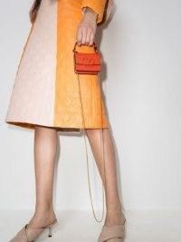 Valentino Garavani VSLING leather mini bag | tiny orange handbag