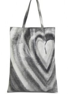 ACNE STUDIOS Aud Heart tote bag – graphic shopper bags