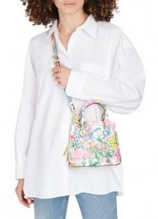 GUCCI Horsebit 1955 handbag – small floral crossbody bag – mini handbags