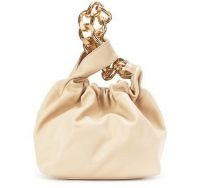 DEMELLIER Santa Monica chain bag – sand-leather mini bags