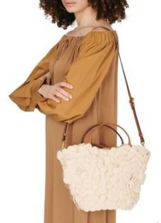 Valentino Garavani Rose small tote bag – floral bags - flipped