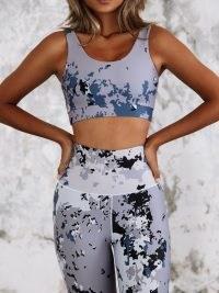 IVYSISTER LUNA SPORTS BRA ~ women's sportswear ~ sporty crop top