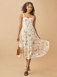 REFORMATION Aviva Dress – tiered summer dresses