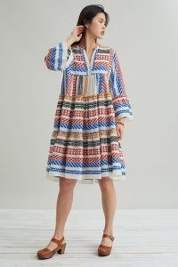 Devotion Ella Print Midi Dress – voluminous dresses