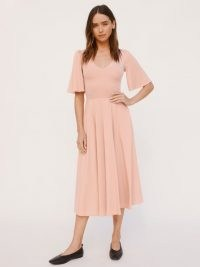 REFORMATION Gisella Dress ~ pink fit and flare dresses