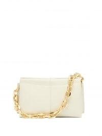 WANDLER Carly mini chunky-chain leather shoulder bag