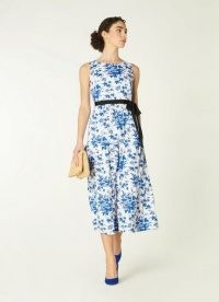 L.K. BENNETT HODGKIN TOILE DE JOUY PRINT COTTON DRESS – summer event dresses