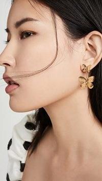 Jennifer Behr Ella Earrings – butterfly jewellery
