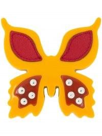 Prada butterfly clip-on