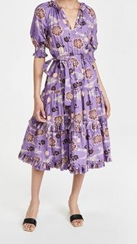 Ulla Johnson Dasha Dress in Zinnia – floral dresses