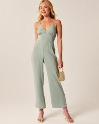 Abercrombie & Fitch Crossback Jumpsuit | Best Dressed Guest Collection
