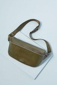 MATT & NAT Vegan Faux-Leather Belt Bag ~ chic green bum bags