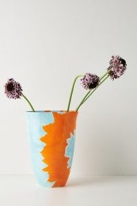 Elnaz Nourizadeh Soul of Colours Vase ~ vibrant hand paintd vases