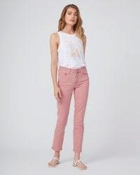 PAIGE Cindy Jeans Vintage Soft Rose ~ faded pink denim
