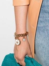Versace Trésor de la Mer charm bracelet / sea inspired chain bracelets with charms