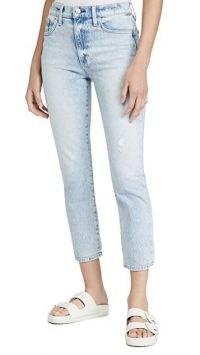Joe's Jeans The Luna Crop Jeans | disstressed acid wash denim