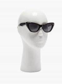 JACQUES MARIE MAGE Kelly cat-eye acetate sunglasses / Grace Kelly style eyewear / vintage style sunnies