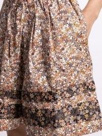 Kika Vargas starfish-print drawstring shorts