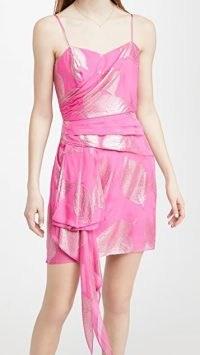 Shoshanna Pearl Dress Fuschia Pink