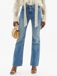 VALENTINO X Levi's 517 upcycled bootcut jeans