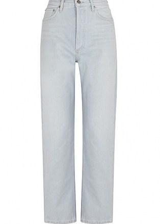 AGOLDE 90's Pinch Waist light blue straight-leg jeans   women's denim