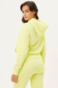 FRANKIES BIKINIS Aiden Sweatshirt Lemonade ~ women's hooded pullover sweatshirts