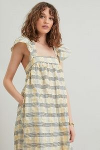 Second Female Hamburg Dress   flutter sleeve tiered hem summer dresses
