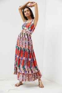 Bhanuni by Jyoti Square Neck Maxi Dress – mixed floral print dresses