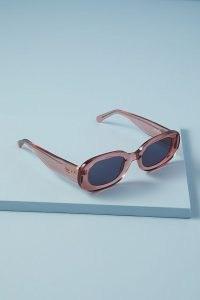 Vow Laurel Sunglasses Pink   women's retro eyewear   womens vintage style sunnies