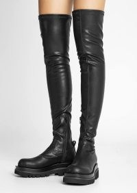 Tony Bianco Bellair Black Venezia Long Boots | over the knee | thigh high | women's chunky sole boot