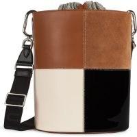 FURLA LIPARI Bucket Bag M Cognac H ~ chic vintage style bags ~ neutral handbags